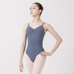 dd65cdcc8bb BALLERINA Ballet Leotard Backless Women Ballet Dance Wear Girl Adult Leotard  Bodysuit Dance Clothes Gymnastics