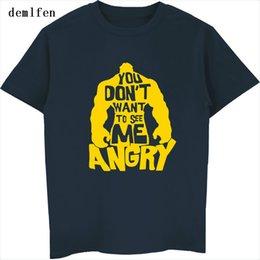 $enCountryForm.capitalKeyWord Australia - 2018 New Hulk T Shirts You Don't Want To See Me Angry T-shirt Men's O-neck Short Sleeve Shirt Tops Hip Hop Tees