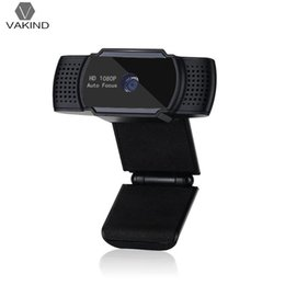 Wholesale VAKIND Q9 Auto Focus USB Computer Camera P FPS MP Webcam Camcorder with MIC for Game Stream