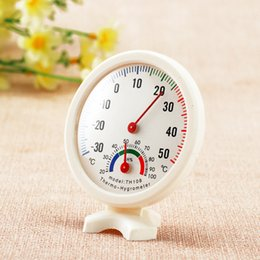 $enCountryForm.capitalKeyWord Australia - Thermometer Hygrometer Mini Round Clock-shaped Measuring Indoor Outdoor Wall Temperature Humidity Thermometer Meter Gauge