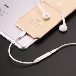 Earphone Headphone Jack Adapter Converter Cable Lighting to 3.5mm Audio Aux Connector Adapter for IOS Cord iPhone7 iPhone 7 Plus 300pcs from cctv h 264 camera wifi manufacturers