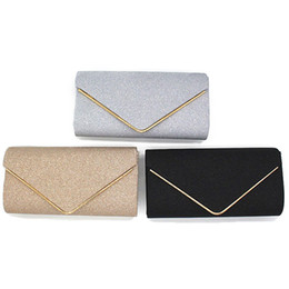Crystal Diamond Fabrics Australia - Woman Evening Bag Women Diamond Rhinestone Party Clutch Crystal Day Clutch Wallet Wedding Purse Party Banquet Black Gold Silver Y190606