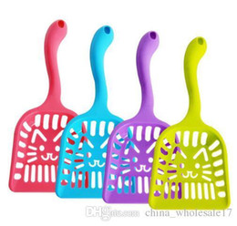 poop products Australia - Pet Supplies Dog Puppy Cat Kitten Plastic Cleaning Tool Scoop Poop Shovel Waste Tray For Pet Products Supplies P20