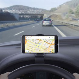 cell phone dashboard 2019 - New Arrival 2017 Universal Car Dashboard Cell Phone GPS Mount Holder Stand HUD Design Cradle New Car-styling cheap cell