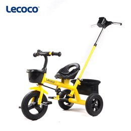 standard bicycles NZ - 2019 new hot Leka lecoco children's tricycle stroller bicycle Nino 2 generation children's car free shipping 2 generation S300