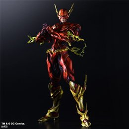 $enCountryForm.capitalKeyWord Australia - PLAY ARTS KAI VARIANT DC COMICS THE FLASH Barry Allen ACTION FIGURE Superhero Model Toy