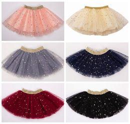 $enCountryForm.capitalKeyWord Australia - 2019 summer girls sequin skirts kids princess pleated skirts baby tulle skirt gold pettiskirts birthday party supplies gown glitter tutus
