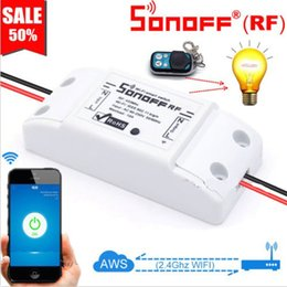 $enCountryForm.capitalKeyWord Australia - Itead Sonoff WiFi Smart Switch 433MHz RF Receiver Wireless Remote Controller DIY Home Automation Relay Module for Alexa