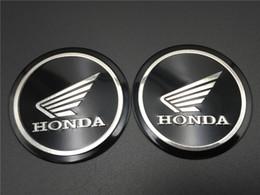 Motorcycle Fairing Decals Australia - 55mm Fuel Gas Tank Emblem Decal Tuning Wing Logo for Honda Fairing Badge Racing Bike Motorcycle Stickers
