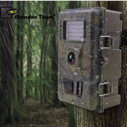 Night Vision Animal Camera Australia - Hunting Trail Camera Wild camera IP66 Night vision for animal photo traps hunting camera,HD 1080P Outdoor Hunter Cam