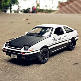 $enCountryForm.capitalKeyWord NZ - Initial D Toyota AE86 Alloy Metal Diecast Cars Model Inital Toy Car Vehicles RX7 Pull Back 1:28 Light for Children Boy Toys Gift