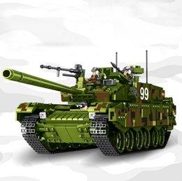 Model Military Tanks Australia - Tank World Military War Weapon Type 99 Tank Building Blocks Sets Models Educational Toys Legoings