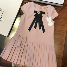 $enCountryForm.capitalKeyWord Australia - The CH* Girls Short Sleeves Dresses Fashion Children Clothes 3-10 Little Girls Dresses Special Products