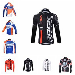 RABOBANK ROCK RACING team Cycling long Sleeves jersey 2019 bike shirts  Quick dry Clothing MTB maillot Ropa Ciclismo free shipping 1012917F 89562a8a0