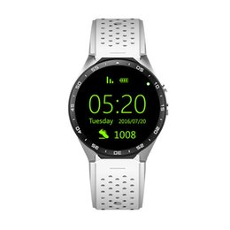 "$enCountryForm.capitalKeyWord Australia - KW88 GPS Smart Watch Heart Rate Waterproof WIFI 3G LTE Wristwatch Android 5.1 MTK6580 1.39"" Wearable Devices Watch For Android iPhone Phone"
