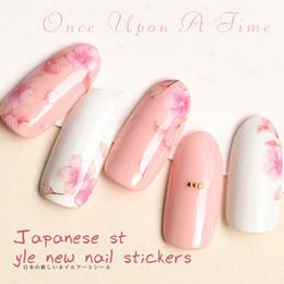 Super glue nailS online shopping - Super Thin Back Glue Nail Sticker Flower Jesus Nail Art