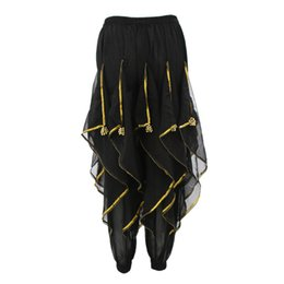 5ad6433f70 Black Belly Dancing Costume UK - Womens Belly Dance Harem Pants Tribal  Baggy Arabic Halloween Pants