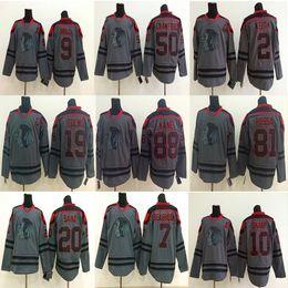 Patrick sharP jersey online shopping - Blackhawks Charcoal Grey Jersey Chicago Blackhawks Ice Hockey Jerseys Patrick Kane Jonathan Keith Sharp Crawford Hossa Jers