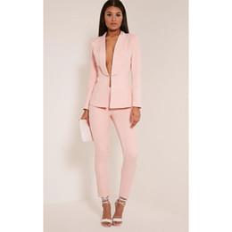 Ternos novos da luz personalizaram ternos de negócio elegantes das senhoras do terno formal da forma para casamentos venda por atacado