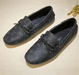 $enCountryForm.capitalKeyWord Australia - Brand Designer Brand Male Casual Flats Shoe Cowhide Leather Slip-on Mocassin Metal Button Men's Suit Shoe Zapatillas Size 38-44