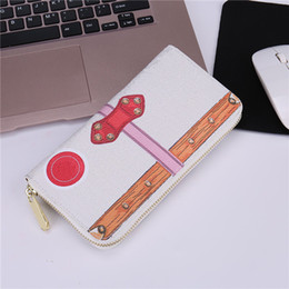 Leather Notecase NZ - High Quality Womens Luxury bags Brands Designer LONG Women Notecase Wallets & Holders CUBE Casual PU Leather Lady Credit card purse L60021