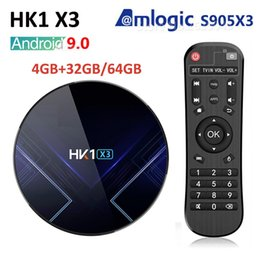 X3 player online shopping - HK1 X3 Android TV BOX GB RAM GB GB GB Amlogic S905X3 G Wifi BT M LAN Player Youtube HD K Smart TV BOX