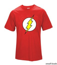 Men S Tees Australia - Big Bang Theory T-shirt The Flash Print Women And Men T Shirts Hot Selling Casual Tee Shirt S~xxl Cotton Clothing Dropship Q190518