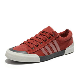 $enCountryForm.capitalKeyWord UK - 2019 Canvas Shoes Men Casual Shoes Breathable Wear-resistant Comfortable Round Toe Lace-up sneakers Flat