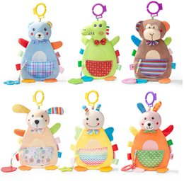 $enCountryForm.capitalKeyWord Australia - Cute Animal Baby Bed Pacify Toys Rabbit Monkey Dinosaur Kids Bed Hanging Sleeping Cartoon Plush Toy