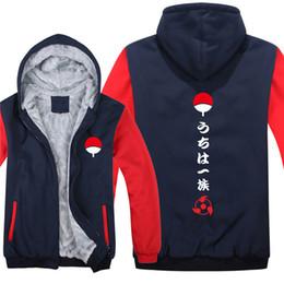 d6ee9fdb6e winter Hoodies Naruto Akatsuki Uchiha Itach Kakashi Boruto Men women Warm  autumn clothes sweatshirts Zipper jacket fleece hoodie