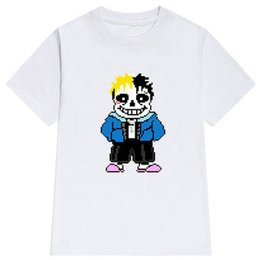$enCountryForm.capitalKeyWord UK - XXX t shirt Undertale sans X short sleeve tees XXXTentacion design gown tops Fadeless print clothing Pure color colorfast modal Tshirt