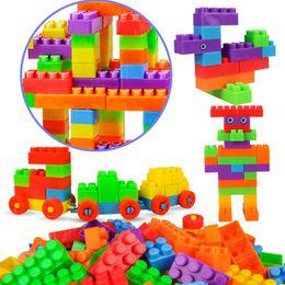 37c7bdf69 Children s large particles building blocks Puzzle early education  assembling plug blocks Toys 72pcs children s educational toy