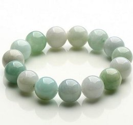 $enCountryForm.capitalKeyWord Australia - Natural Myanmar green Jade bracelet 13MM