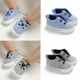 $enCountryForm.capitalKeyWord Australia - Newborn Baby Boy Girl Pram Shoes Toddler Pre Walker Canvas Sneakers Trainers