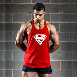 $enCountryForm.capitalKeyWord Australia - Bodybuilding bloody cotton men's vest fitness bandage 1cm shoulder strap fitness vest sexy sportswear T-shirt