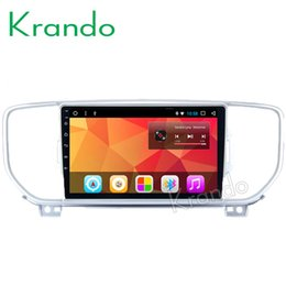 "Gps For Kia Sportage NZ - Krando Android 8.1 9"" IPS Full touch Big Screen car multimedia player for Kia Sportage 2015+ radio navigation gps BT wifi car dvd"