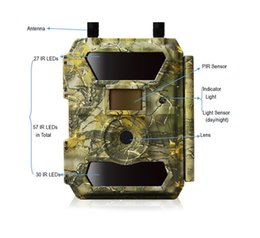 Trail gps online shopping - sifor CG GPS outdoor G FDD LTE TDD LTE S trigger time hunting trail camera photo traps digital night vision APP control