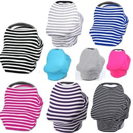 Wholesale Multiuse baby stroller cover premium stretchy soft baby car seat cover canopy nursing breadtfeeding cover for infant girls boys