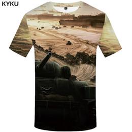 $enCountryForm.capitalKeyWord Australia - KYKU Tshirt Men War T-shirt Printed Tank Tshirts Casual Russia T-shirts 3d Shirt Punk Rock Mens Clothing