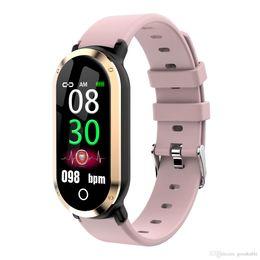 Gauge Pins UK - Color screen smart bracelet bluetooth phone calls vibration remind movement step gauge heart rate monitoring of sleep