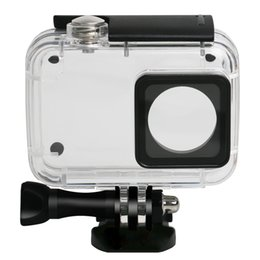 $enCountryForm.capitalKeyWord Australia - Best quality Diving Protective Housing Waterproof Case 40m for Xiaoyi 4K Xiaomi II   Yi Lite Action Camera with Bracket