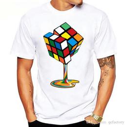 Mens Tees Australia - Mens Designer Sweatshirts Round Neck Mens t-shirt tee Mens womens tee Hip-hop 3D Cube Tees Casual TShirts Designer Print tees S-XXX L