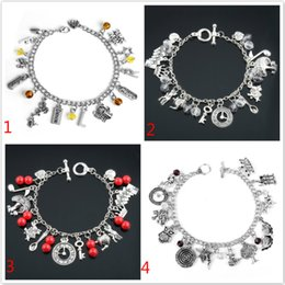 Dancer Bracelets Australia - Jewelry Glee Charm Bracelet For Women Love Dancer Cheer Bangle Bracelet Chain Wristband Owl Alice Movie Accesories