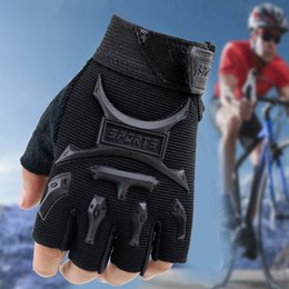 Road Bicycle Gloves Australia - New Kids Junior Cycling Gloves Outdoor Sport Road Mountain Bike Monkey Bars seal gloves Fit Boy Girl Youth Age 2-13 Bicycle Half Finger