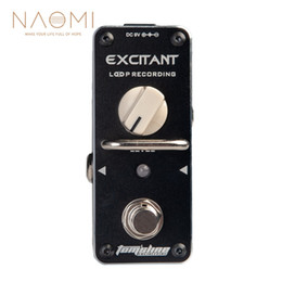 Discount guitar multi effect - NAOMI Guitar Effect Pedal AROMA ALP-3 Loop Recording Guitar Effect Pedal Looper Effect True Bypass Unlimited Overdub Tru
