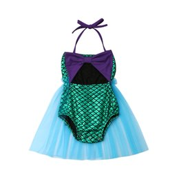 64619a4f4b24 2019 Toddler Baby Girl Sleeveless Bandage Lace Tutu Dress Kids Casual Outfit  Set Fashion Casual Cotton Summer Cute Lovely