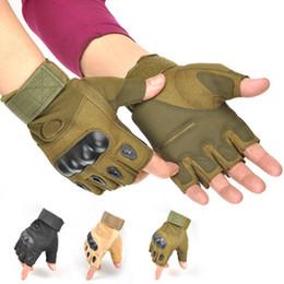 $enCountryForm.capitalKeyWord Australia - Motorcycle Half Finger Gloves Mmen Outdoor Sports Hard Knuckle Forces Army Fan Gloves Super Fiber Bike Finger Protective