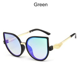 polarized sun glasses kids Canada - Classic Plastic Kids Sunglasses Vintage Boys Girls Sun Glasses Designer Pink Gradient Sun Glass Uv400 Oculos