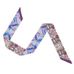$enCountryForm.capitalKeyWord Australia - ELENI&ANNIE 34 Inch Twill Handbag Handle Wrap, Purse Neck Hair Ribbon Scarf Headband,Neck Scarf,Designer Scarf ,Designer Belts