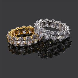 Discount love rings male - Love Shape Hip Hop Zircon Ring Lovers Ring Full of Gemstone Rings Fashion Male Jewelry